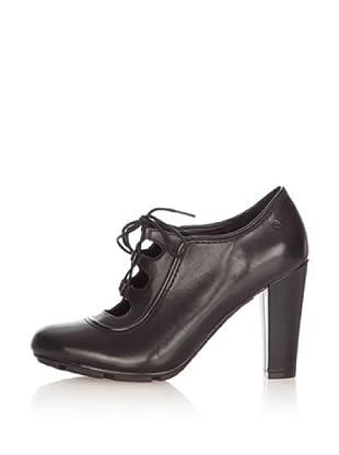 Rockport Zapatos Tacón Cordones Jalicia (Negro)