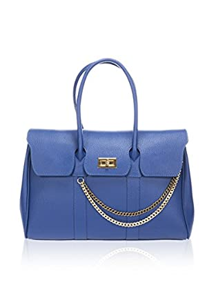 Massimo Castelli Henkeltasche 5235 Blue