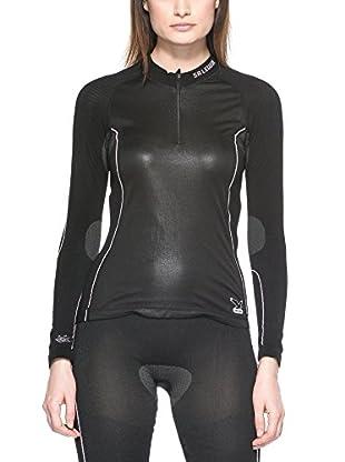 Salewa Longsleeve Shirt SW Seamless W LONgsleeve Zip-T