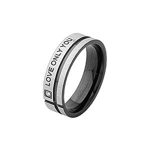 Voylla Mens Ring With Black Enamel Work