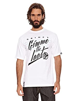 Grimey Wear Camiseta Gimme The Loot (Blanco)