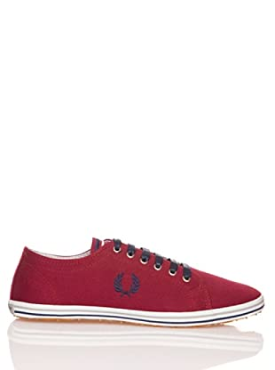 Fred Perry Deportiva Kingston Twill Tipped (Burdeos)