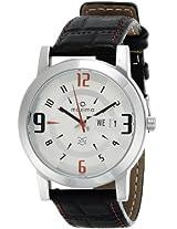 Maxima Attivo Analog White Dial Men's Watch - 21009LMGI