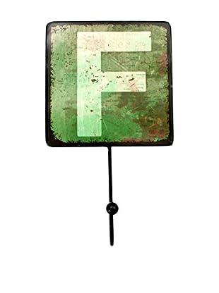 LO+DEMODA Wanddeko Letters Metal F