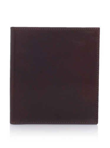 Bosca Men's 12-Pocket Credit Wallet, Dark Brown