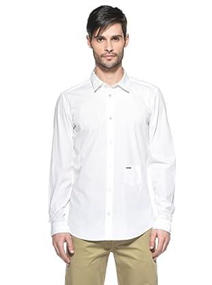 Diesel Camisa Spacificolas (Blanco)