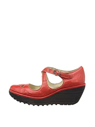 Fly London Zapatos Yate (Rojo)