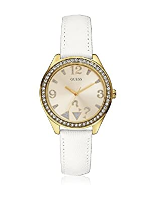 Guess Reloj de cuarzo Woman Blanco 37 mm