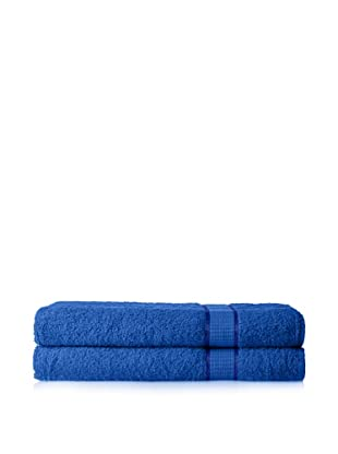 Espalma Set of 2 Ambassador Bath Sheets (Blue)