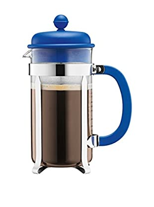 Bodum Cafetera French Press 8 Cups 1 L Azul Claro