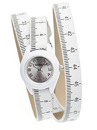 Il mezzometro Uhr mit Miyota Uhrwerk Classic Time weiß 32 mm