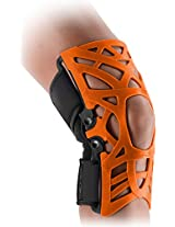 DonJoy Reaction WEB Knee Support Brace with Compression Undersleeve: Orange, XXX-Large