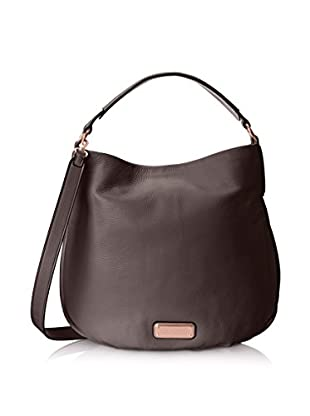 Marc by Marc Jacobs Women's Q Hillier Hobo, Faded Aluminum
