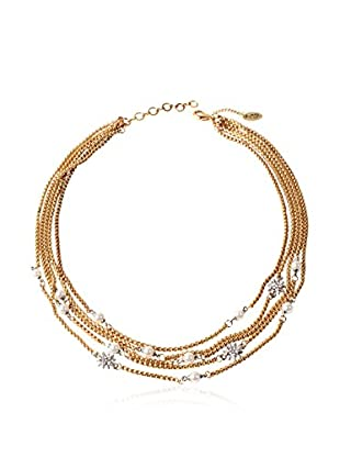 Amrita Singh Collar Multi Chain Starburst Necklace