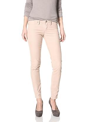 Stitch's Women's Lynx Skinny Corduroy Pants (Sand)