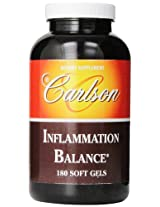 Carlson Labs Inflammation Balance Multi Nutrients, 180 Softgels