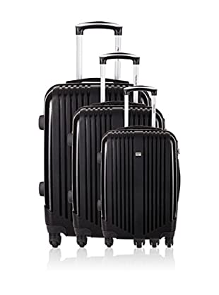 Travel One Set de 3 trolleys rígidos Aversa