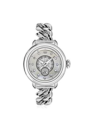 Glam Rock Women's GR77061 Bal Harbour Silver/Mother of Pearl Stainless Steel Watch