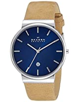 Skagen Ancher Analog Blue Dial Men's Watch - SKW6103I