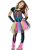 Fun World Funky Punk Bones Childs Costume Small (4-6)