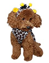 Anit Accessories Giraffe Dog Costume, 8-Inch