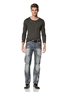 MOD Men's Ilias Straight Leg Jeans (True Blue)