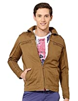 Peter England Zip Front Cotton Jacket