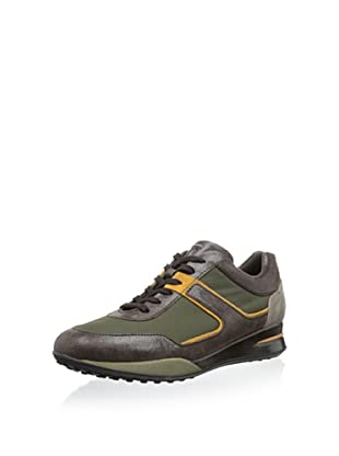 Tod's Men's Novelty Sneaker (Olive Grey)