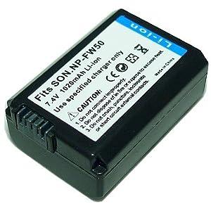 PowerFirst NP-FW50互換バッテリー【ネットショップ ロガリズム】NP-FW50