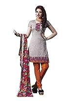 Texclusive Women's Salwar Suit Set (Texkitkat10 _Multi-Coloured _Free Size)
