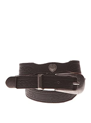 Pepe Jeans London Cinturón Clapham (Negro)