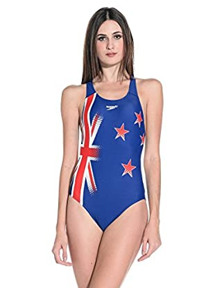 Speedo Badeanzug New Zealand Plmt Pbck Af