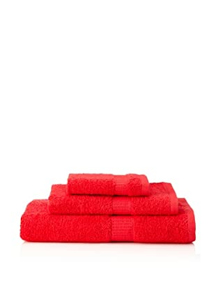 Tommy Hilfiger 3-Piece Towel Set (Cardinal Red)