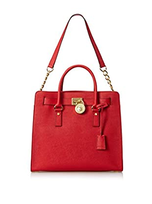 MICHAEL Michael Kors Women's Hamilton Large North/South Tote, Red