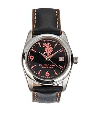 U.S. POLO ASSN. Uhr mit japanischem Quarzuhrwerk Holden schwarz 35 mm