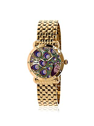 Bertha Women's BR3802 Genevieve Gold/Multi Stainless Steel Watch