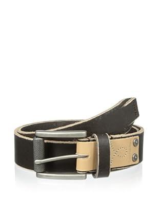 Calvin Klein Jeans Men's Sanded Edge Belt (Brown)