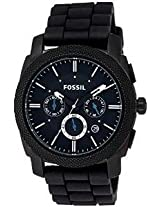 Fossil Machine FS4487 Round Dial Analogue Watch - For Men