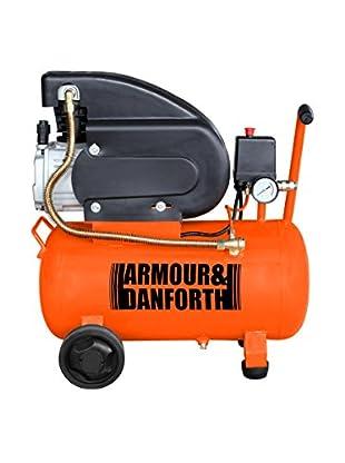 ARMOUR & DANFORT Compressore Lubrificato Ad Olio 24Lt
