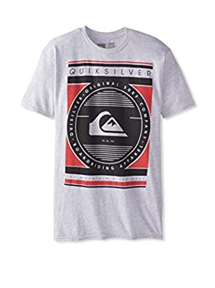 Quiksilver Men's Blockage Crewneck Tee