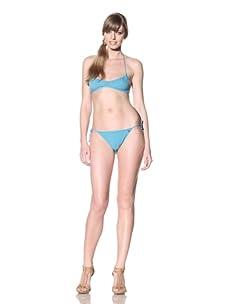 Nina Ricci Women's Nouvelle Vague Two-Piece Swimsuit (Emeraude)