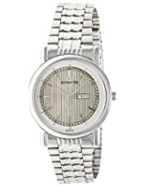 Sonata Wedding Analog Silver Dial Men's Watch - 7987SM01