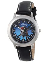 Disney Kids W000155 Pirates of the Caribbean Stainless Steel Time Teacher Watch