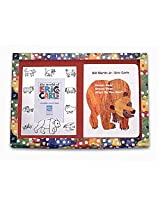 "Eric Carle's ""Brown Bear"" silverplated Frame/Book Set by Lunt Silversmiths"