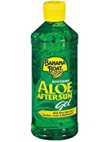 Banana Boat Aloe Vera Gel, 16 Fluid Ounces