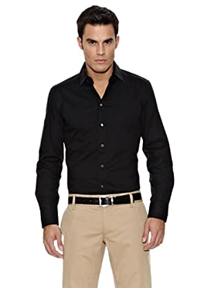Dolce & Gabbana Camisa Vestir (Negro)