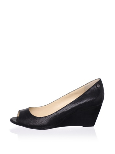 Calvin Klein Women's Shelley Wedge Pump (Black)