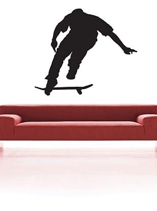 Vinilo Adhesivo skater Negro