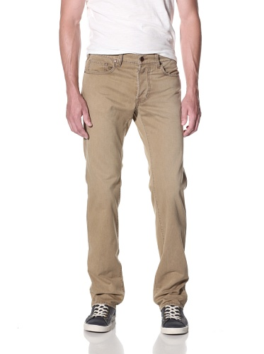 Genetic Denim Men's The Maverick Straight Colored Jean (Sandstorm)