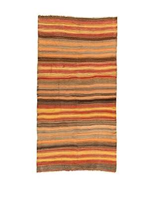 Design Community By Loomier Teppich Kilim Caucasico mehrfarbig 162 x 311 cm